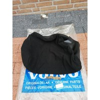 Upholstery seat chair black fabric with leather side 3278232 NOS Volvo 340, 360