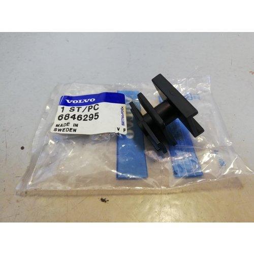 Vulstuk bevestiging bumperafdekplaat 6846295 NOS '94-'98 Volvo 940, 960