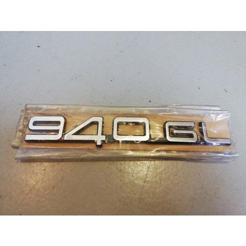 Embleem '940GL' 3538441 NOS Volvo 940