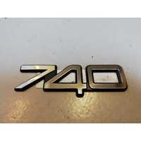 Embleem '740' 3538301 NOS Volvo 740