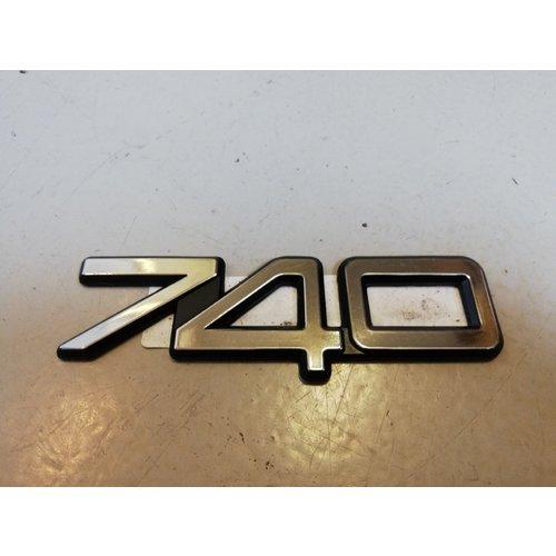 Emblem '740' 3538301 NOS Volvo 740