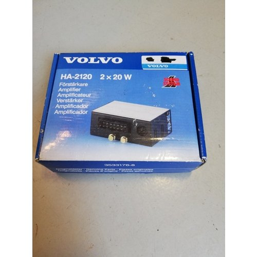 Versterker 2 x 20Watt HA-2120 14-polig 3533176 NOS Volvo 240, 260