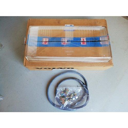 Headlight glass RH 1392837 NOS Volvo 740, 760