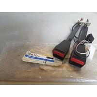 Belt buckle set LH + RH 1244263 NOS Volvo 240
