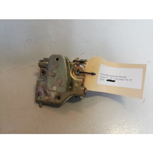 Door lock mechanism RH 1202681 NOS up to and including model year '77 Volvo 140, 240