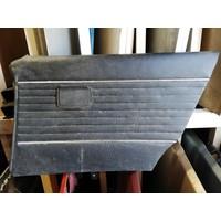 Door trim inner door panel black LH / RH rear uses Volvo 66