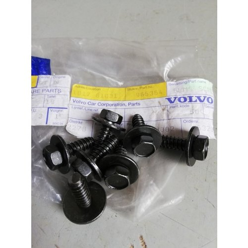 Screw 965364 NOS Volvo 240, 740, 760, 780, 940, 960, S40, V40, S90, V90 series