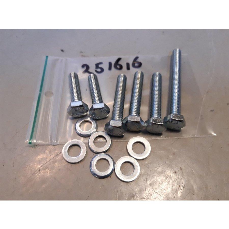Bouten bevestigingset waterpomp 251616 NIEUW DAF 66, Volvo 66, YA66, 343, 345