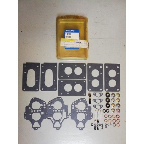 Gasket set Solex carburetor B172 / B18U engine 3343830-0 NEW Volvo 340, 440
