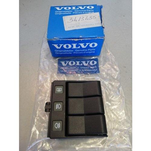 Fog lights switch rear window heating RHD 3413455 NOS Volvo 440, 460, 480 series