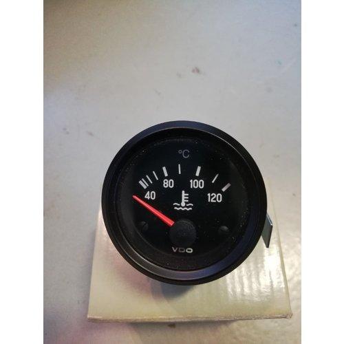 Koelwater temperatuurmeter VDO 52mm inbouw 24Volt 310040002G NIEUW Volvo Penta Marine