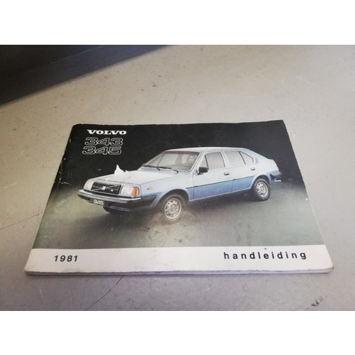 Handleiding 1981 Volvo 343, 345