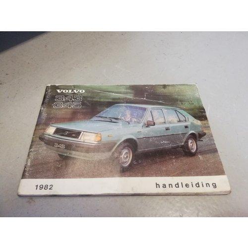 Handleiding 1982 Volvo 343, 345