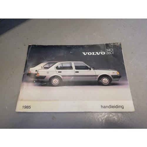 Handleiding 1985 Volvo 340, 360