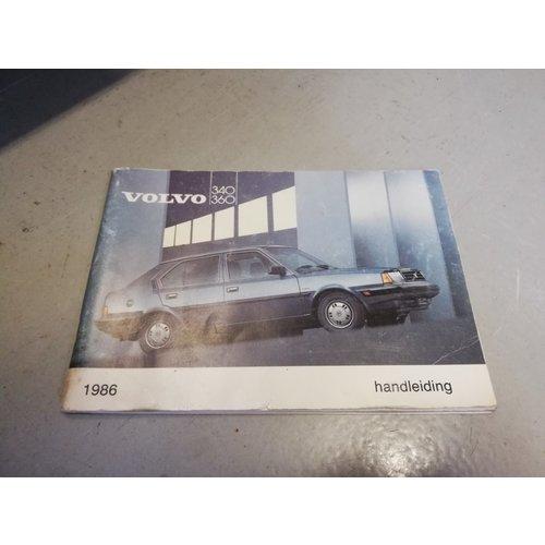 Handleiding 1986 Volvo 340, 360