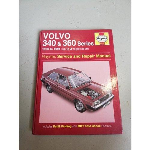 Handleiding Haynes Manual Service & Repair 1976-1991 Volvo 340, 360