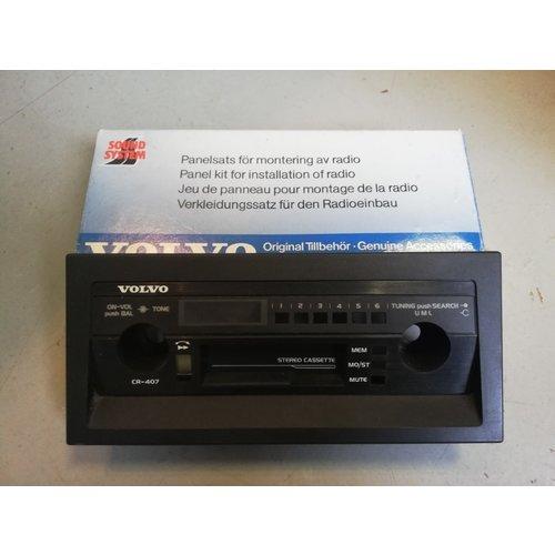 Radiopaneel frontpaneel CR-407 1343210 NOS Volvo 440, 460, 480
