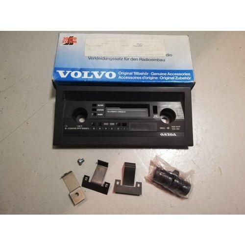 Radiopaneel frontpaneel CR-407 1384520-1 NOS Volvo 440, 460, 480, 740, 760, 780, 940, 960