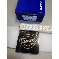 Logo plaatje embleem 6 x 6 cm sticker grille 1342673 NIEUW Volvo 300, 700, 900 series