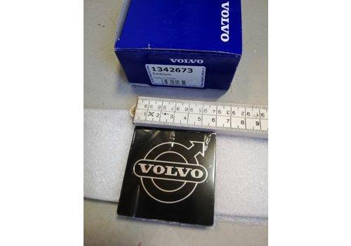 Logo plate emblem 6 x 6 cm sticker grille 1342673 NEW Volvo 300, 700, 900 series