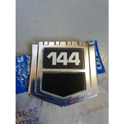 Embleem Volvo '144' 1211739-6 NOS Volvo 144