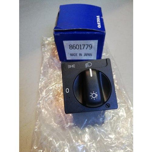 Hoofdschakelaar verlichting 8601779 NOS Volvo 850, 940, 960, S90, V90 (-1998)