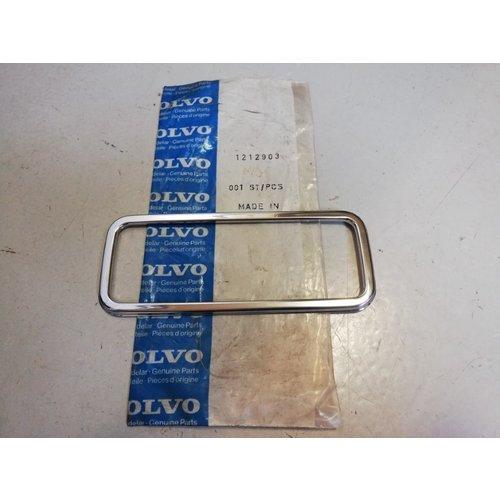 Rand om verlichting chrome zijmarkering 1212903 NOS Volvo 240, 260