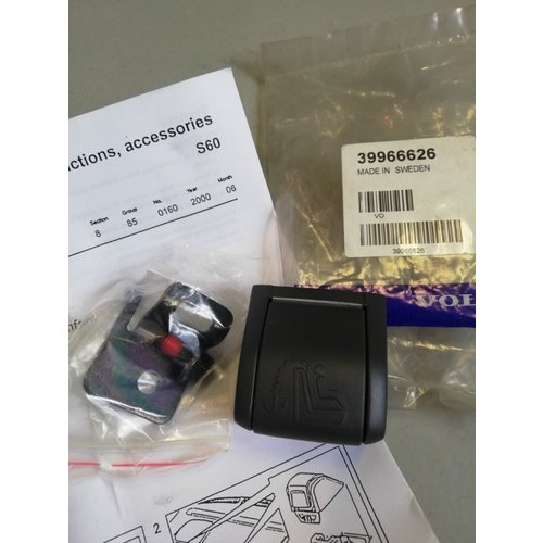 Montagekit kindergordel 39966626 NOS Volvo S60, V70, V70XC