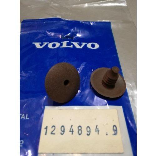 Plug interieurbekleding bruin 1294894 NOS Volvo 240, 260