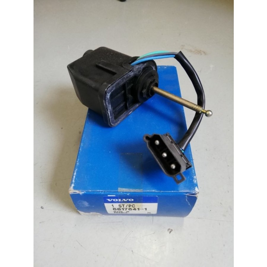 Bediening motor koplamp electrisch  6817641 NOS Volvo 850 serie