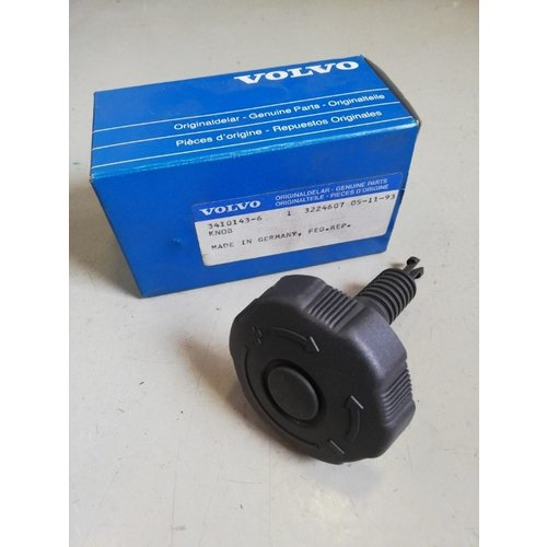 Rotary knob seat lumbar support 3410143 NOS Volvo 440, 460 series