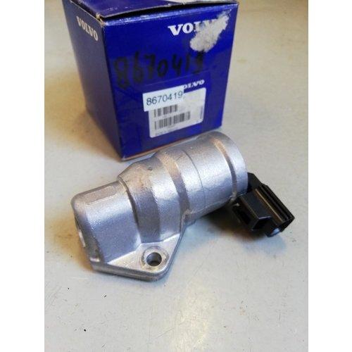 Stepper motor, idle control valve 8670419 to -2004 NOS Volvo S40, V40 series