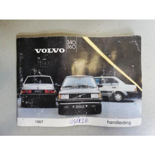 Handleiding 1987 Volvo 340, 360