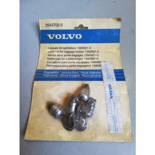 Lock set load carrier, roof carrier 3542702 NOS Volvo 850