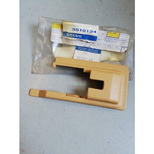 Cover cap sill beige/cream LH/RH 3510134/3510135 NOS Volvo 780