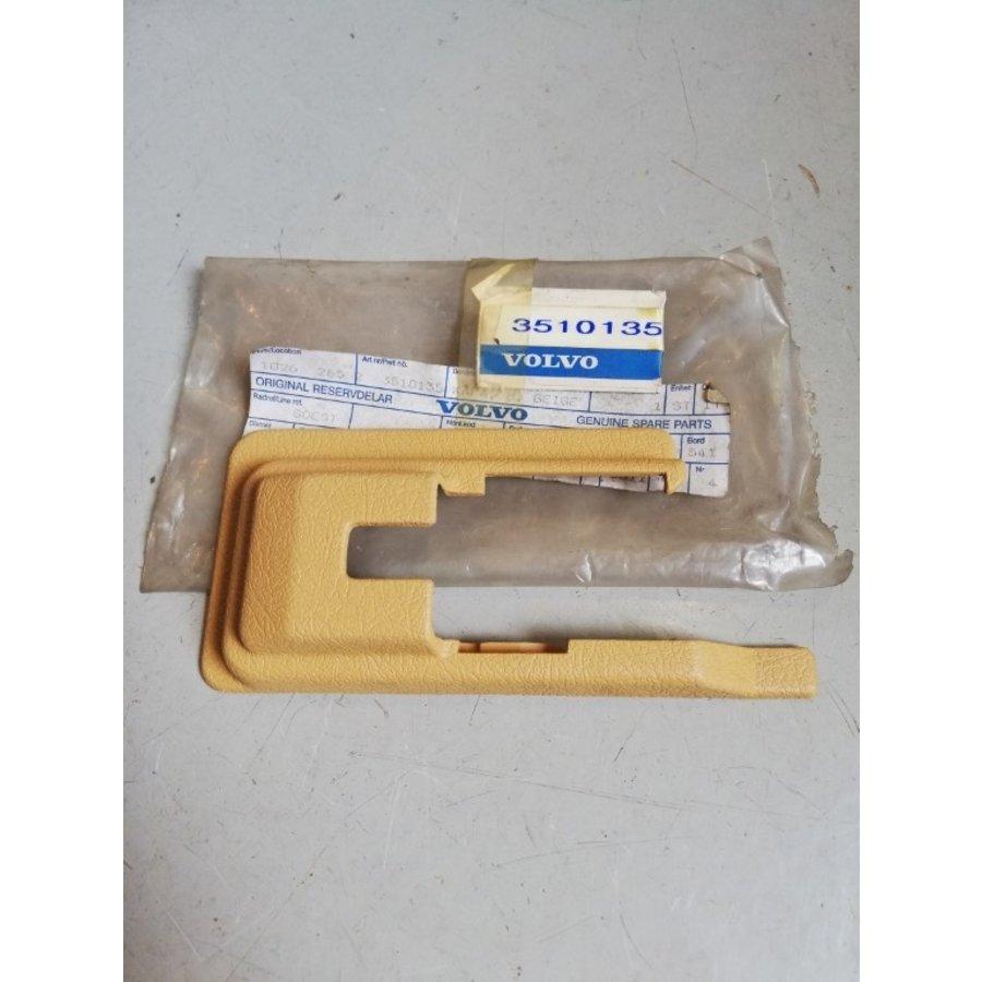 Afdekkap dorpel beige/creme LH/RH 3510134/3510135 NOS Volvo 780
