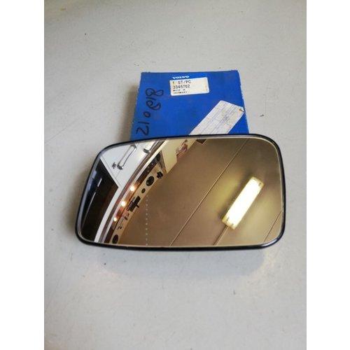 Mirror glass LH 3345762 NOS Volvo S40, V40