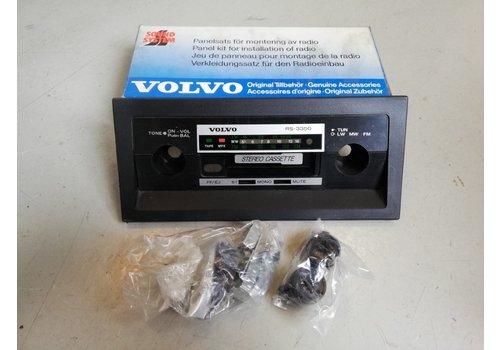 Radiopaneel frontpaneel RS-3350 1129965 NOS Volvo 200, 300, 700, 900  serie