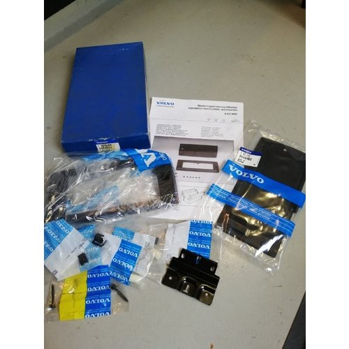 Supplementary set, hinge set tunnel console 3464664 NOS Volvo 440, 460