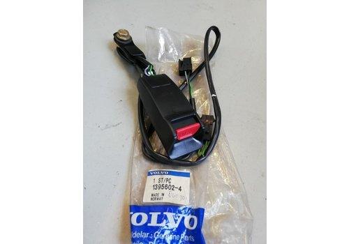 Seat belt catch passenger side RH 1395602 NOS Volvo 740, 760, 780