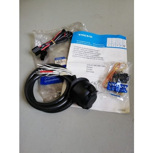 Cable set 13-pin for towbar 3529113 NOS Volvo 940, 960