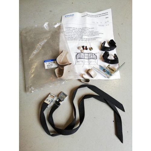 Mounting set beige for luggage rack 9124789 NOS Volvo 850