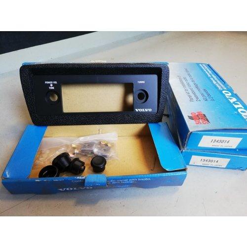Radiopaneel frontpaneel 2000 kit 1343014 NOS Volvo 200, 300, 700  serie
