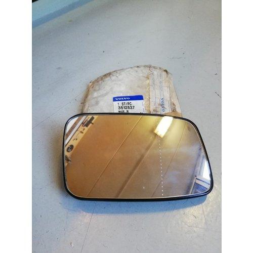 Mirror glass 3512537 NOS Volvo 850