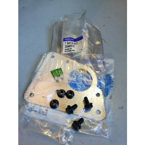Mounting set electric window motor 3344670 NOS Volvo 440, 460