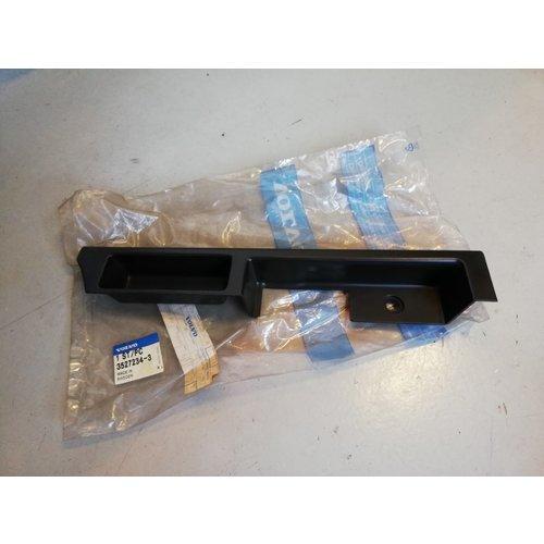Portierhandgreep, deurhandgreep voorportier LH zwart 3527234 NOS Volvo 740, 760, 780, 940, 960