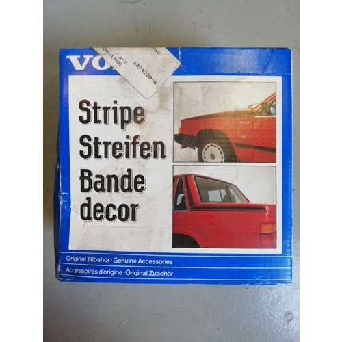Striping decoration set 1394220 NOS Volvo 740, 760, 780