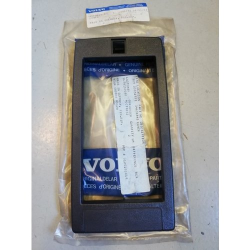 Hood without holes for center console armrest 3463684 NOS Volvo 440, 460