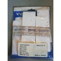 Aanvulset notitieblock Volvo 9451321 NOS Volvo Universeel
