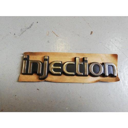 Emblem 'Injection' 3205674 NOS Volvo 360
